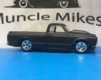 Hot Wheels 1967 Chevy C-10 Truck Flat Black