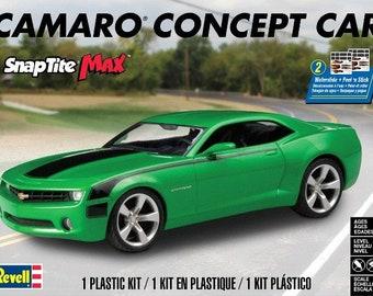 Plastic Model Kit: RMX-1527 Camaro Concept Car (Snap) Model Kit Free Shipping!