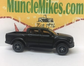 Hot Wheels 2019 Ford F-150 Raptor Custom Painted FLAT BLACK