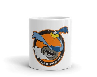 Hot Rod Coffee Mug - Coffee Cup - Tea Cup - Coco Cup - Roadrunner Hot Rod Rat Rod Cup Free Shipping!