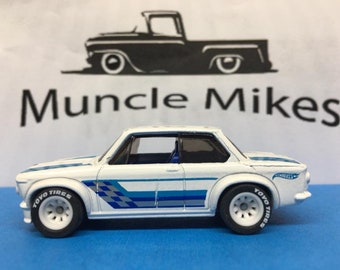 Hot Wheels BMW 2002 Rubber Tires Real Rider Style