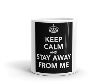 Hot Rod Coffee Mug - Coffee Cup - Tea Cup - Coco Cup - Stay Away From Me Cup Free Shipping!