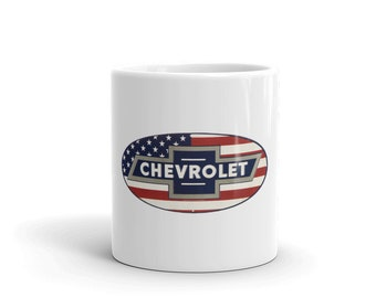 Hot Rod Coffee Mug - Coffee Cup - Tea Cup - Coco Cup - Chevy Chevrolet Cup Free Shipping!