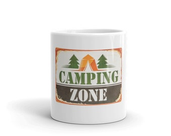 Hot Rod Coffee Mug - Coffee Cup - Tea Cup - Coco Cup - Camping Zone Cup Free Shipping!