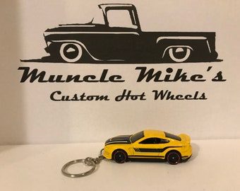 Hot Wheels Ford Shelby GT350R Mustang Christmas Ornament,  Keychain or Zipper Pull