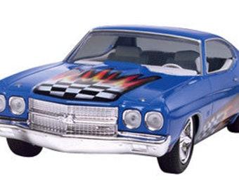 Plastic Model Kit RMX-1932 1970 Chevelle SS 454 (Snap) Plastic Car Model Free Shipping!