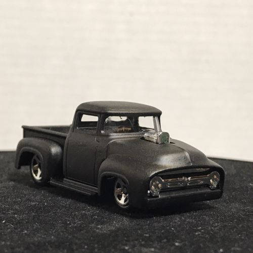 Hot Wheels 1956 Ford Truck Flat Black