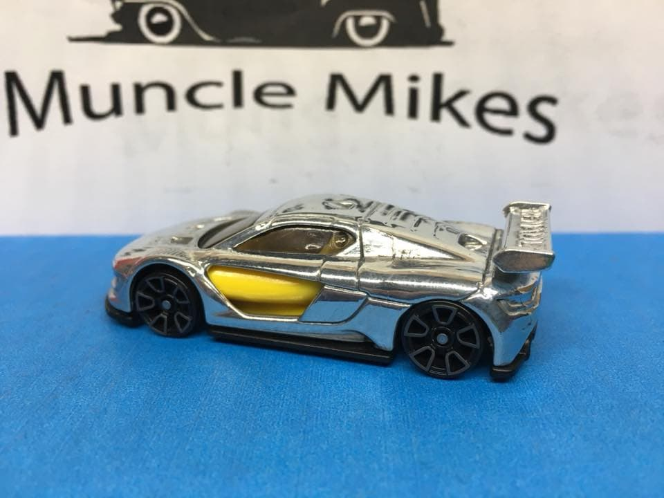 Custom Hot Wheels Renault Sport R.s. 01: POLISHED With Display Case, Cake Topper, Keychain, Zipper Pull, Ornament - Buyer Choice