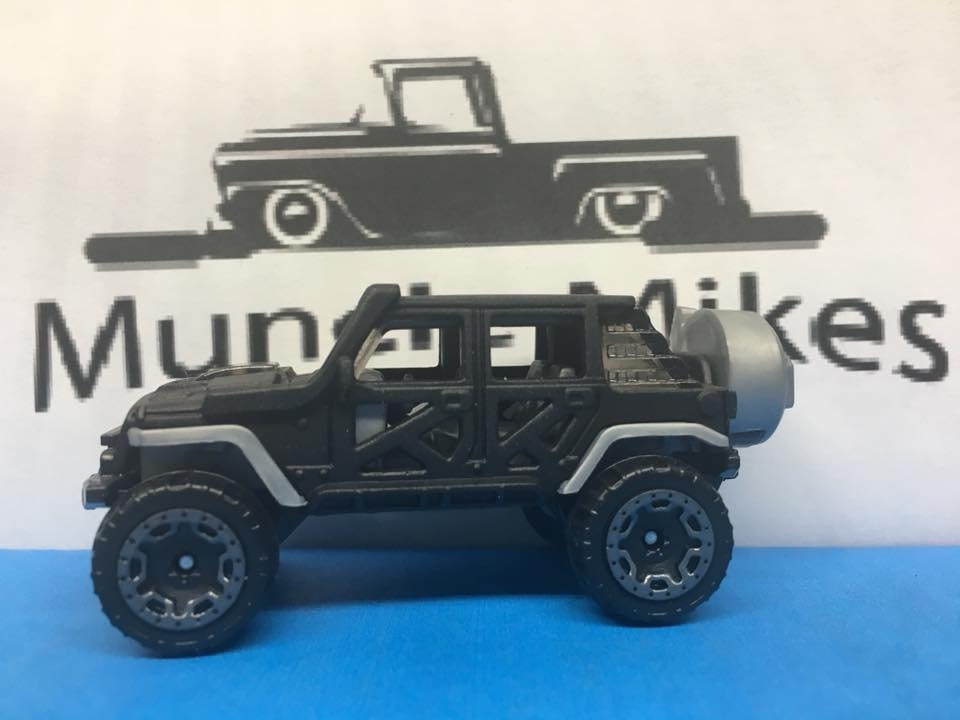 Hot Wheels 17 Jeep Wrangler Custom Painted FLAT ...</p>                               <a href=