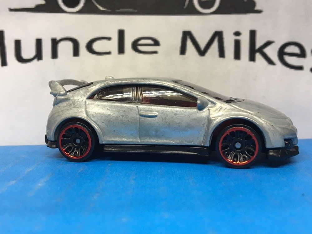 Custom Hot Wheels 2016 Honda Civic Type-R BARE METAL Free Shipping!