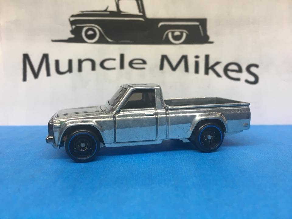 Custom Hot Wheels 2017 Mazda Repu Mad Mike Truck Polished