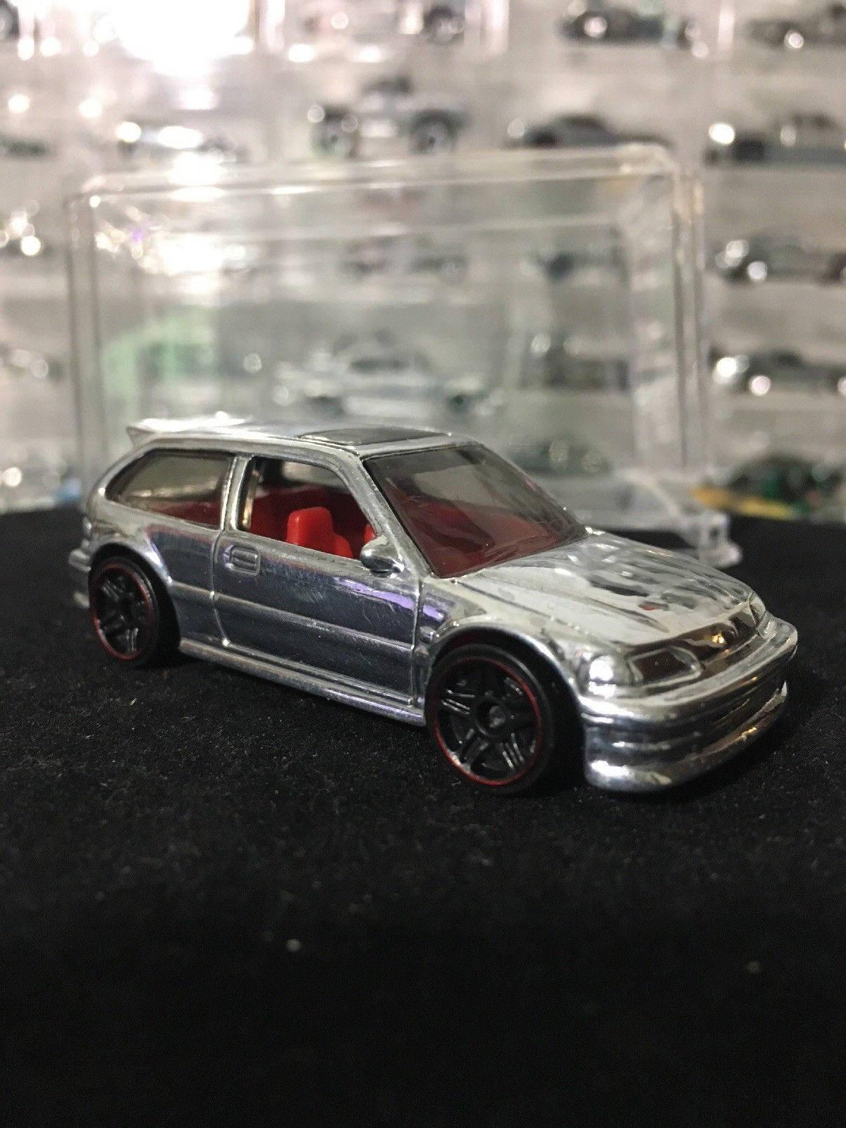 Custom Hot Wheels 90 Honda Civic Ef POLISHED