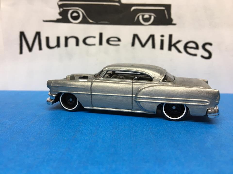 Custom Hot Wheels 53 Chevy Bare Metal