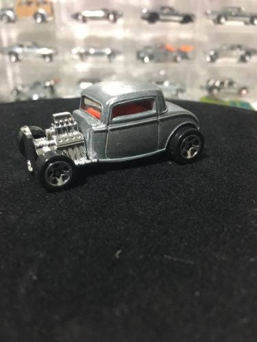 Custom Hot Wheels 32 Ford BARE METAL