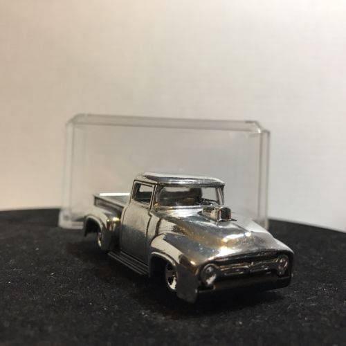 Custom Hot Wheels 1956 Ford Truck Polished