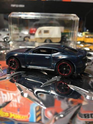 Custom Hot Wheels 2016 Camaro Ss Flat Blue