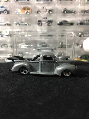 Custom Hot Wheels 142 40 Ford Truck BARE METAL