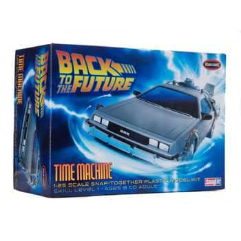 Collectible Plastic Model Kit: Back to the Future Time Machine Model Kit