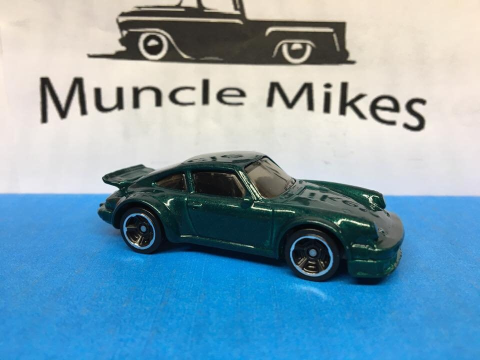 Custom Hot Wheels Porsche 934 Turbo RSR Custom Painted Emerald Metallic Green