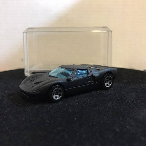 Hot Wheels Ford Gt-40 Flat Black
