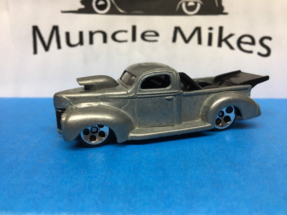 Custom Hot Wheels 142 40 Ford Truck BARE METAL