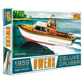 Collectible Plastic Model Kit: 1959 Owens Deluxe Cruiser Model Kit