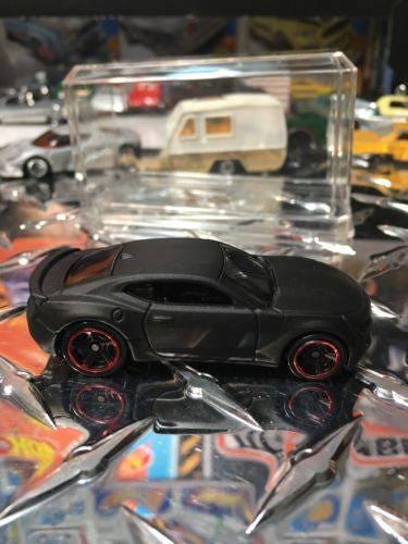 Custom Hot Wheels 2016 Camaro SS Flat Black