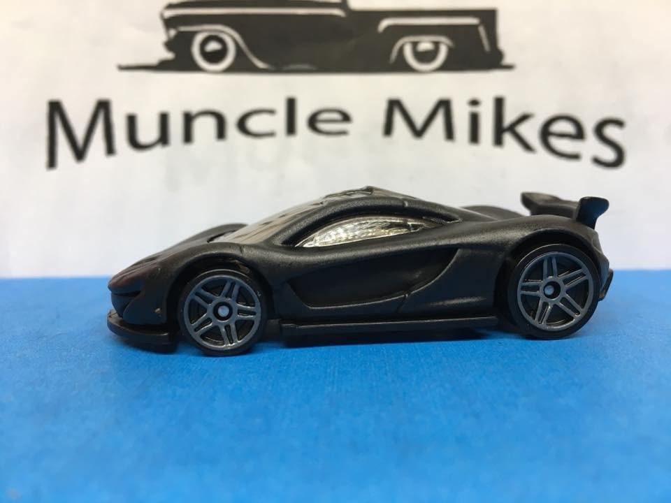 Hot Wheels McLaren P1 Flat Black
