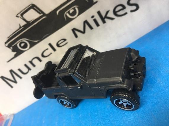 Custom Hot Wheels: 1967 Jeep Jeepster Commando Custom