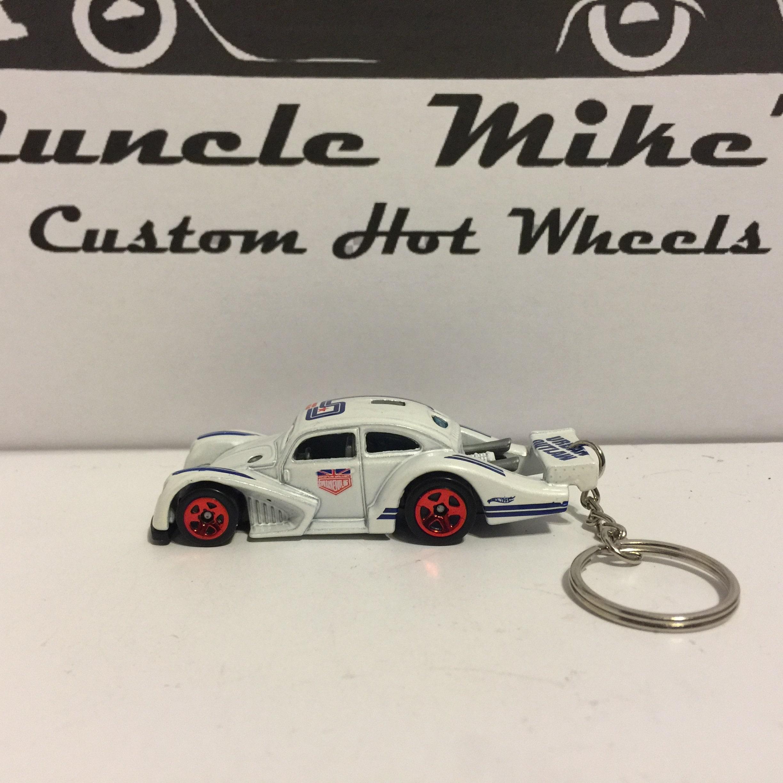 Custom Hot Wheels white