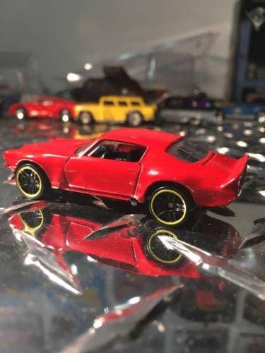 Custom Hot Wheels 70 Camaro RED