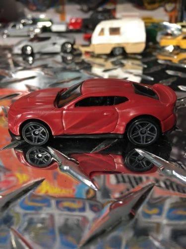 Custom Hot Wheels 2017 Camaro Zl1 Fifty Years Flat Red