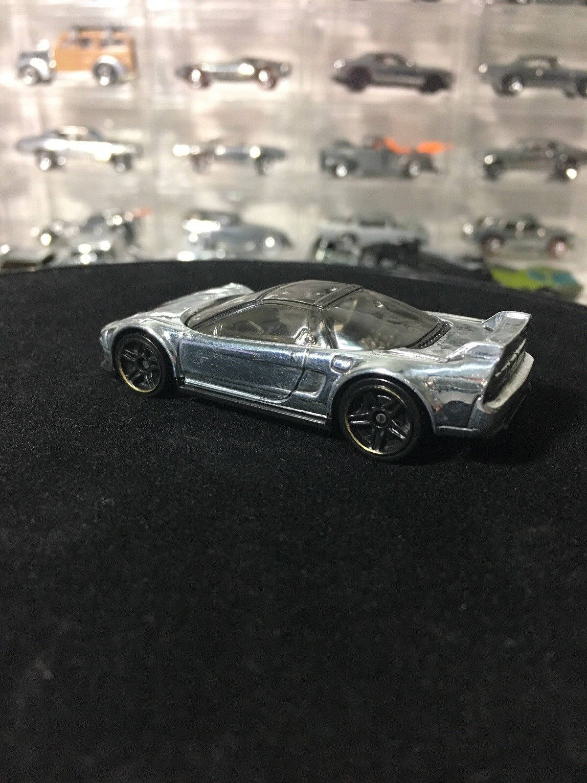 Custom Hot Wheels 1990 Acura Nsx Polished