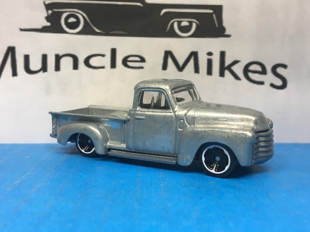 Hot Wheels 1952 Chevy 1500 Hot Rod Truck BARE METAL