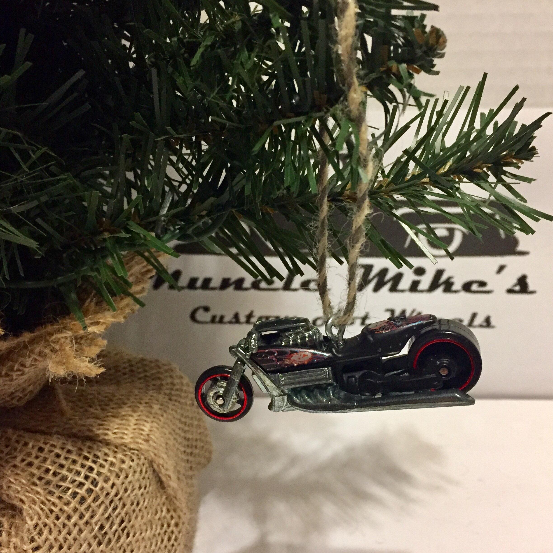 Hot Wheels Christmas Ornament Custom