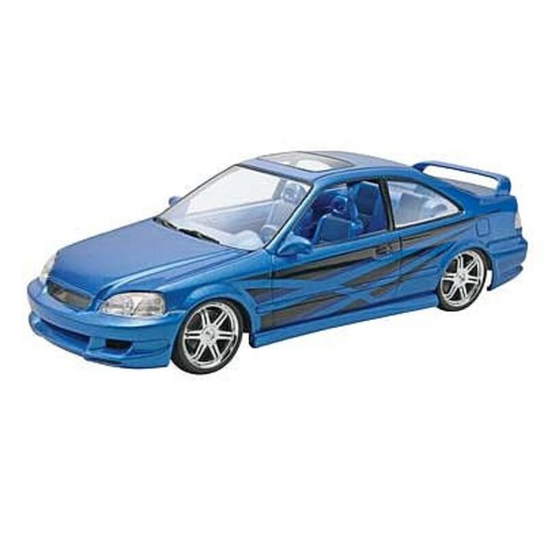 Plastic Model Kit RMX-4331 Fast and Furious Honda Civic Si Coupe Plastic Car Model Free Shipping!