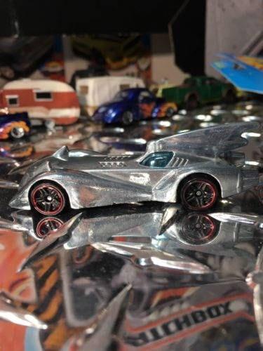 Custom Hot Wheels Dc Comics Batmobile Batman Polished