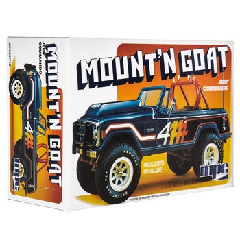 Collectible Plastic Model Kit: Jeep Commando Mount'n Goat Model Kit