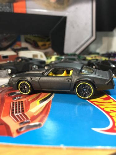Custom Hot Wheels 81 Camaro Flat Black
