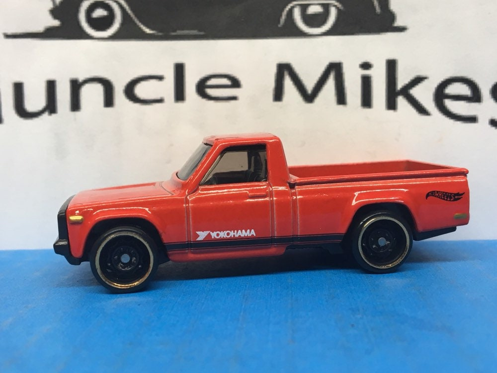 Collectible 2018 Hot Wheels Mazda REPU Pick Up Truck RED With Custom Clear Display Case
