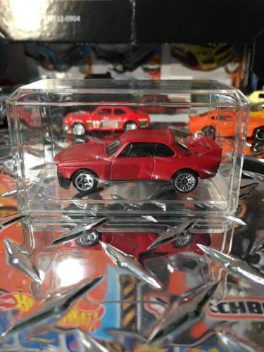 Custom Hot Wheels 73 Bmw 3.0 Csl Race Car Flat Red