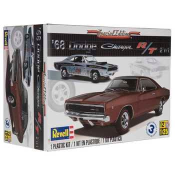 Collectible Plastic Model Kit: 1968 Dodge Charger 2 'n 1 Model Kit
