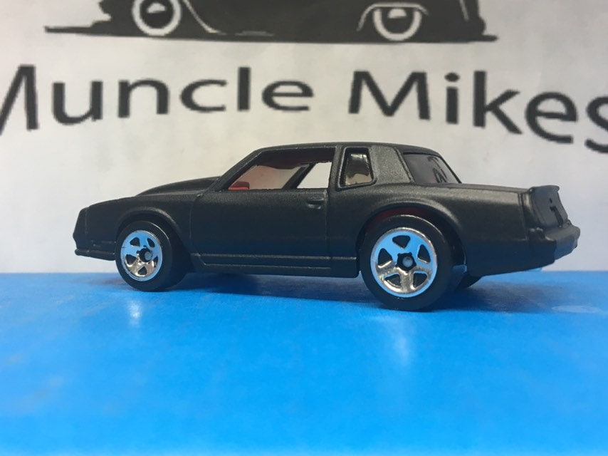 Hot Wheels 1986 Chevy Monte Carlo SS Flat Black