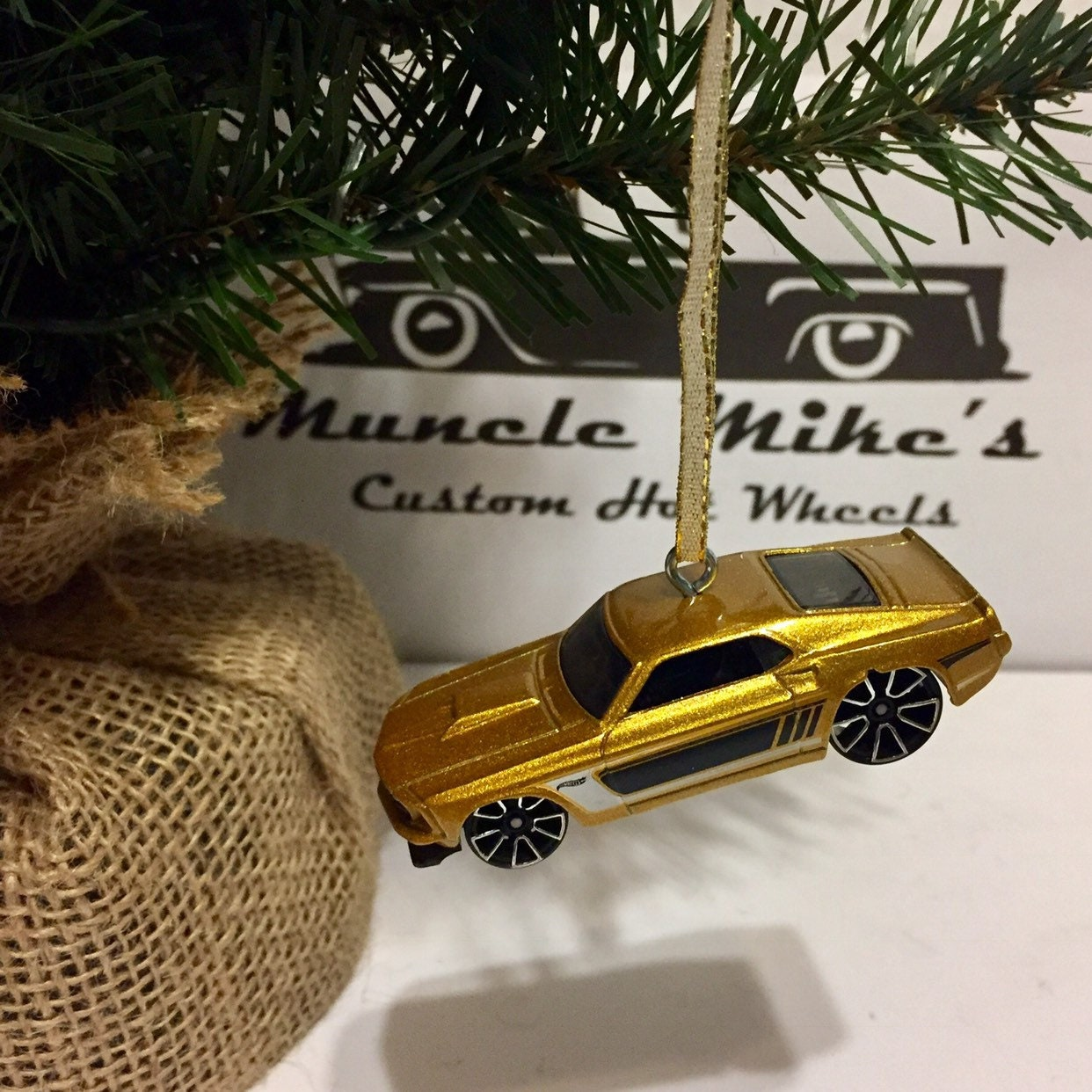 Hot Wheels Christmas Ornament 1969 '69  muscle mania ...</p>                               <a href=
