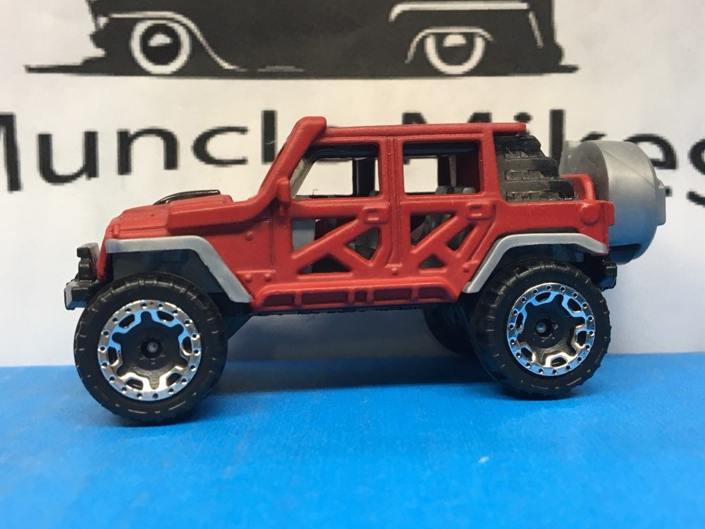 Hot Wheels 17 Jeep Wrangler Custom Painted Cardinal ...</p>                               <a href=