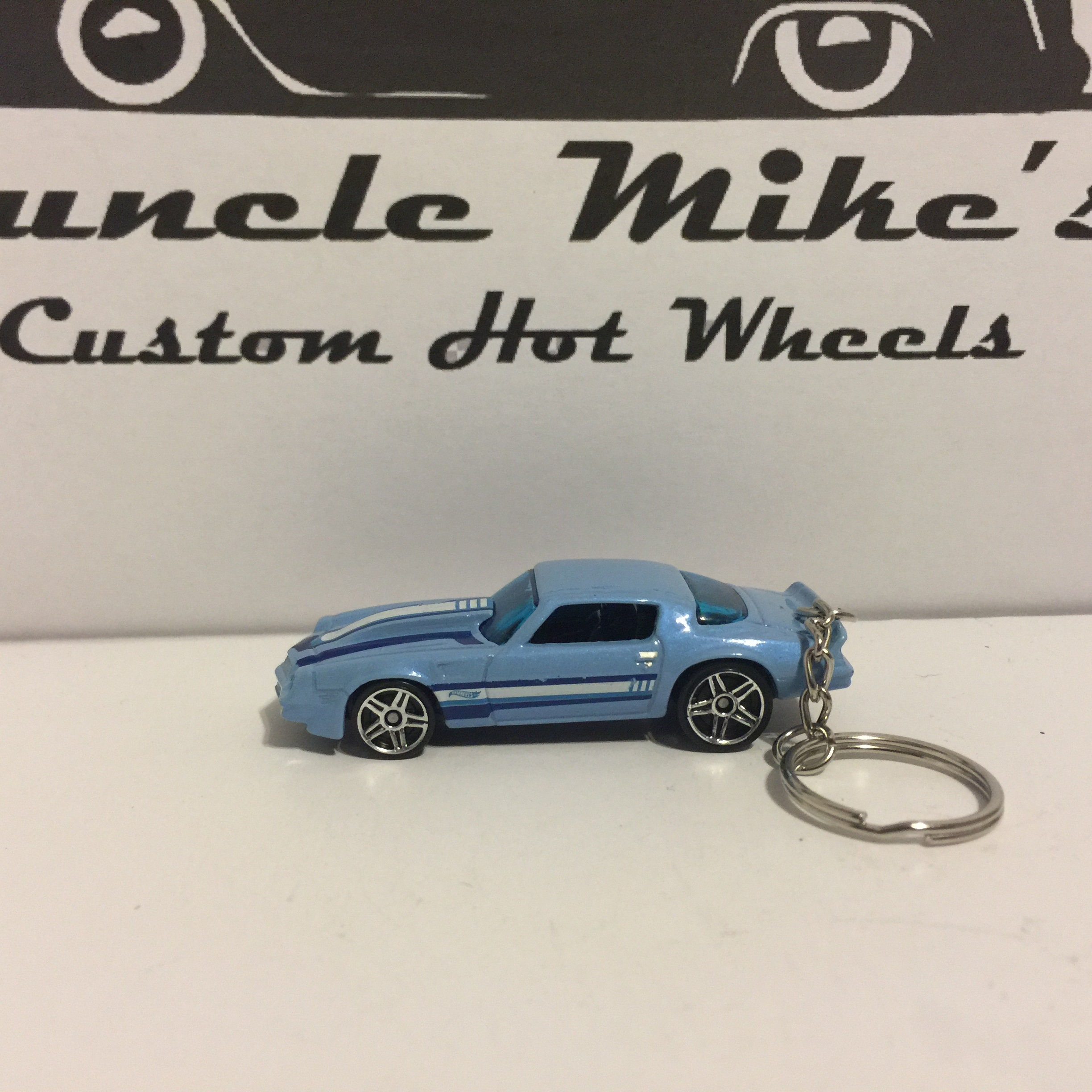 Custom Hot Wheels '81 1981 Camaro Christmas Ornament,  Keychain or Zipper Pull
