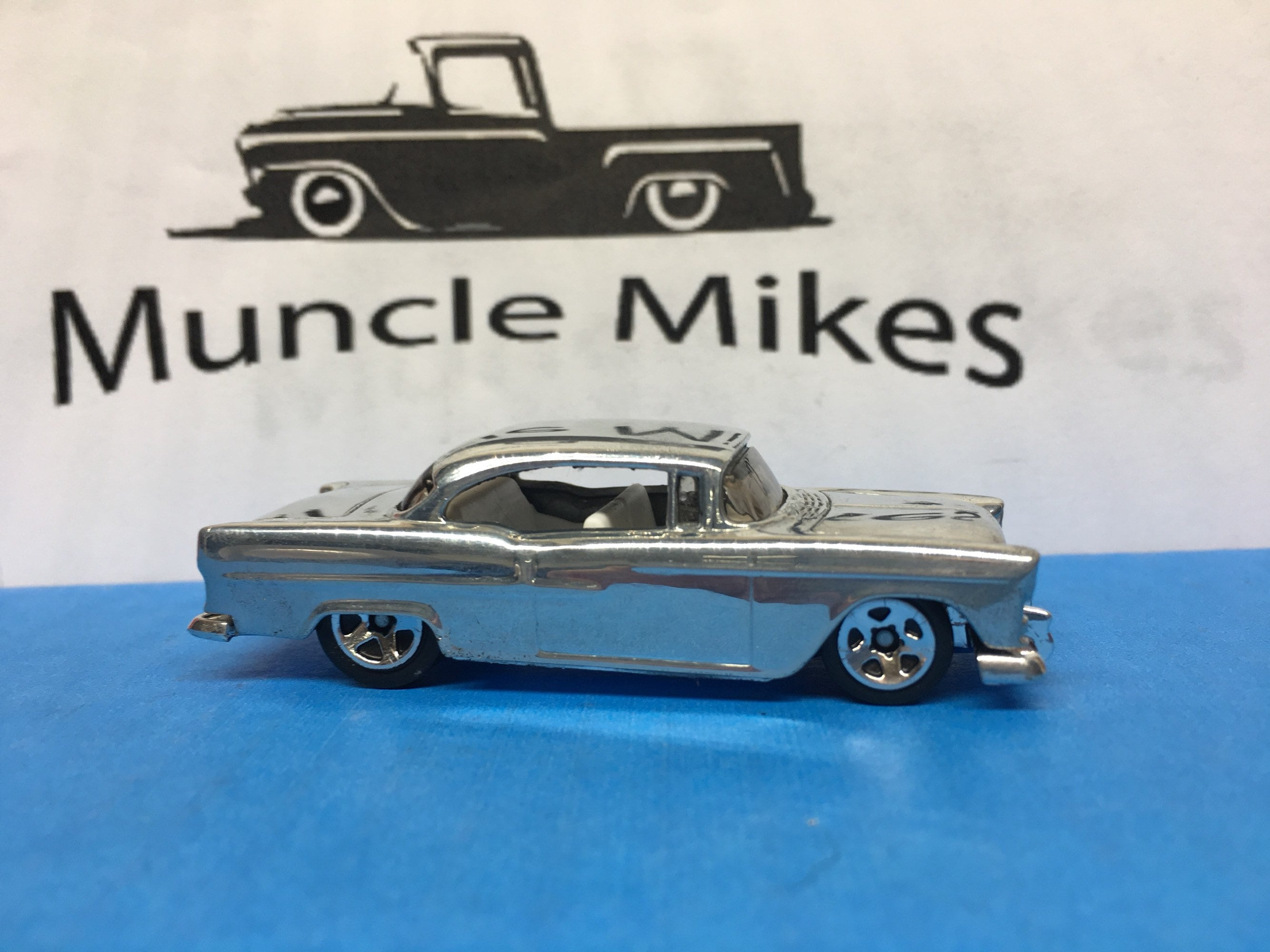 Custom Hot Wheels 1955 Chevy POLISHED