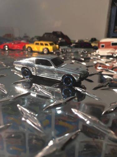 Custom Hot Wheels 67 Mustang Custom Recarded Protech Included