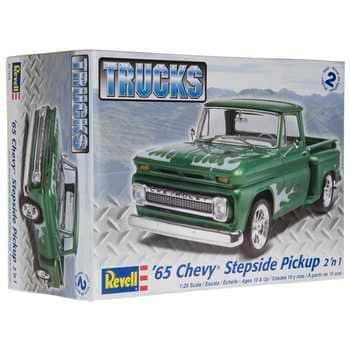 Collectible Plastic Model Kit: 1965 Chevy Stepside Pickup 2 'n 1 Model Kit