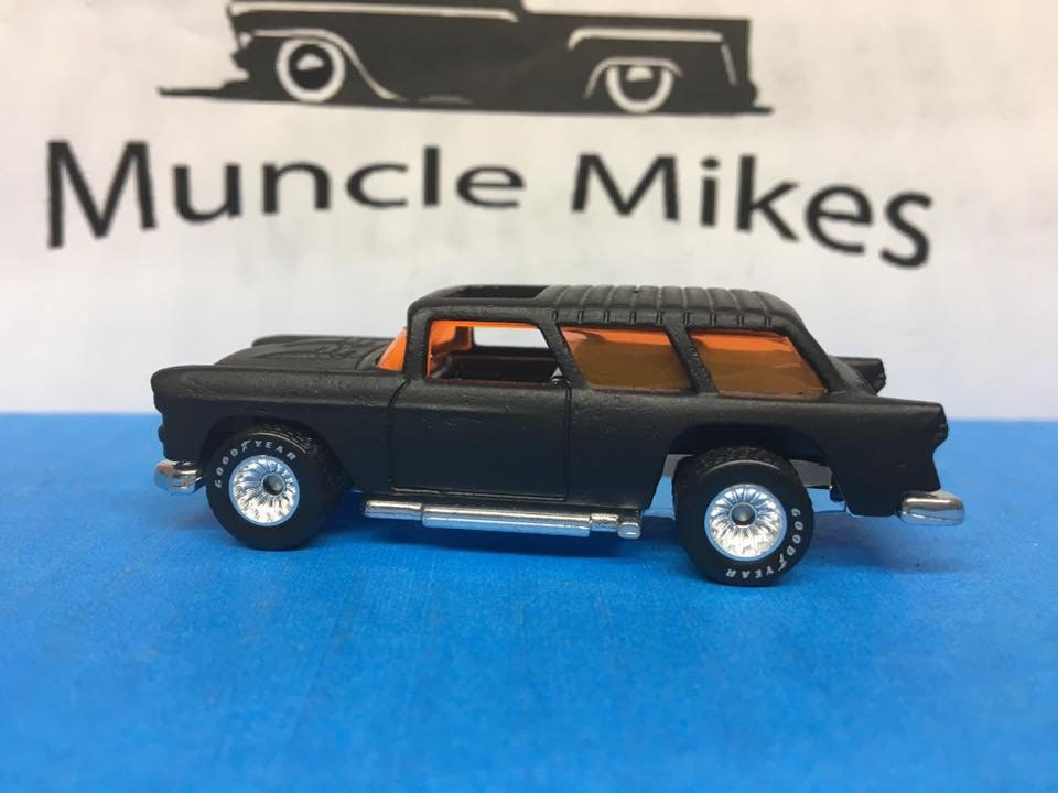Custom Hot Wheels Chevy Nomad Goodyear Rubber Tires